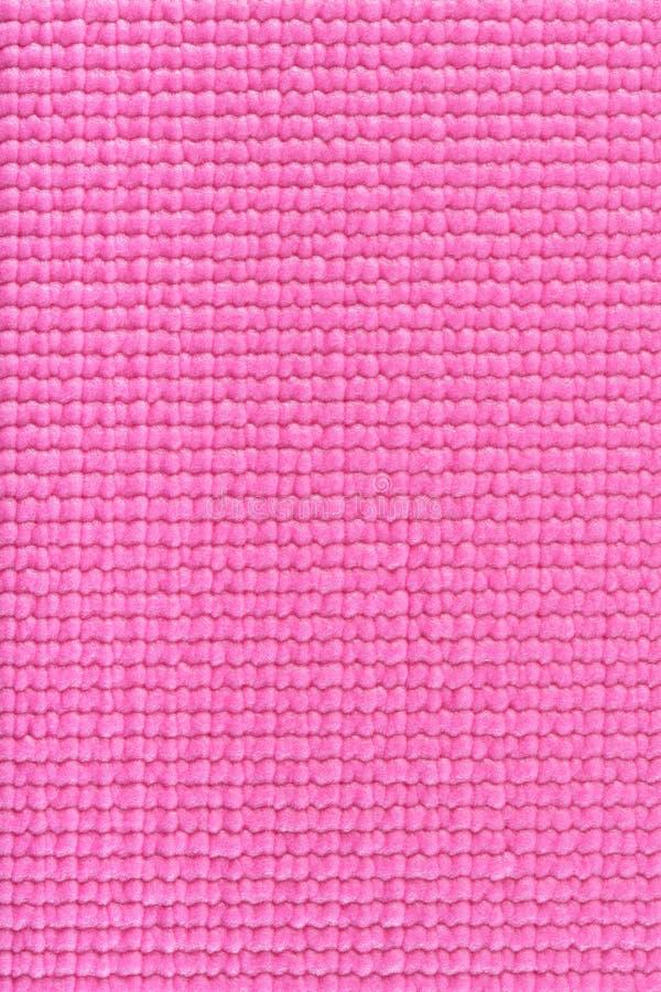 Pink Yoga Mat Texture