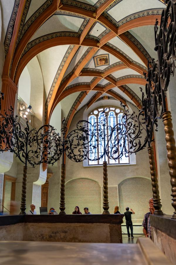 Free Pinkas Synagogue Of Prague In Czech Republic Stock Image - 160851371