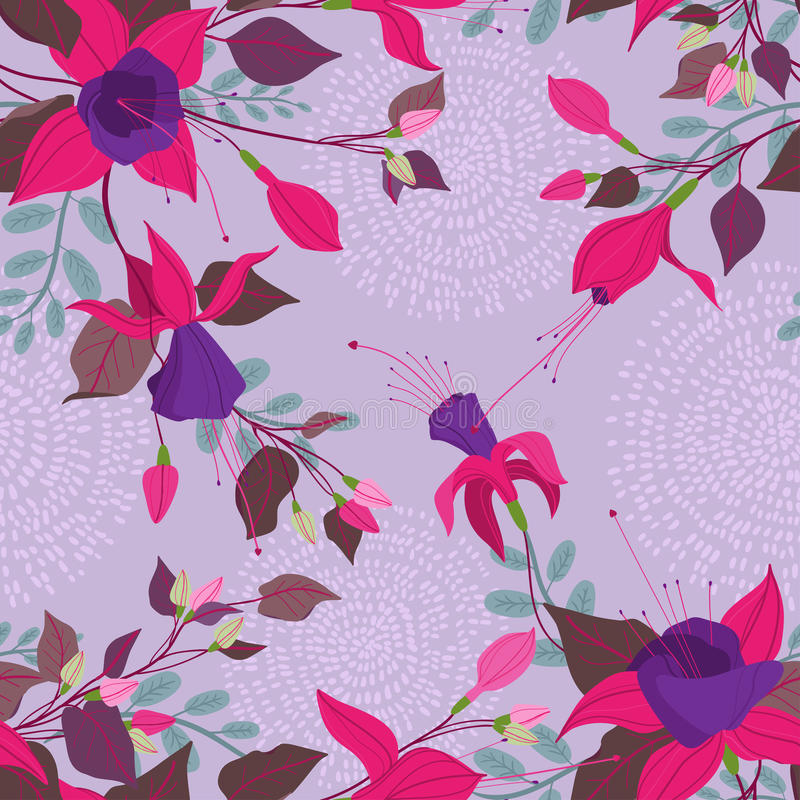 Pinkfarbenes Muster lizenzfreie abbildung