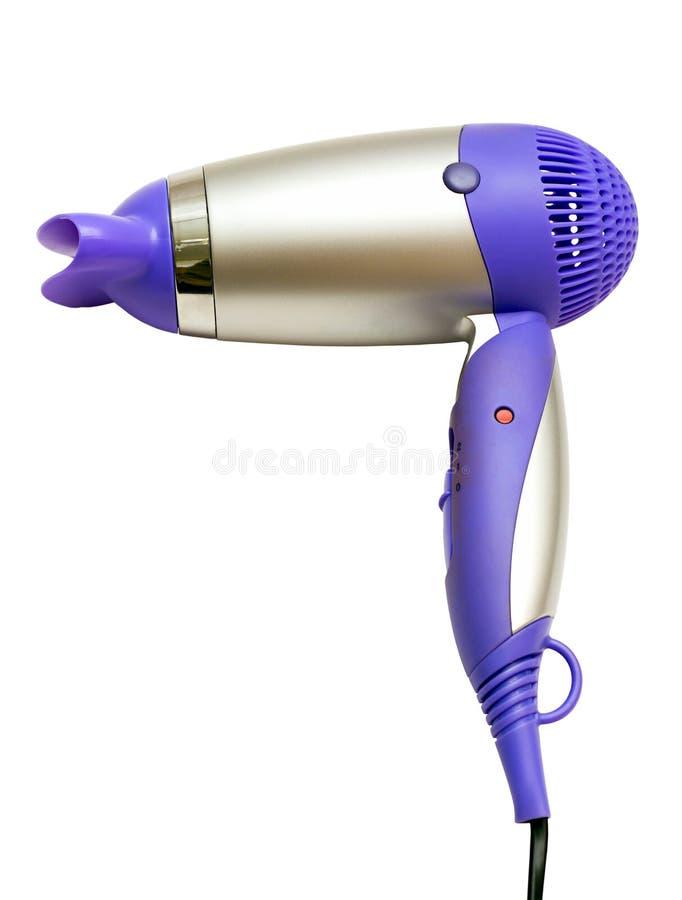 Pinkish-gray hair dryer royalty free stock photo