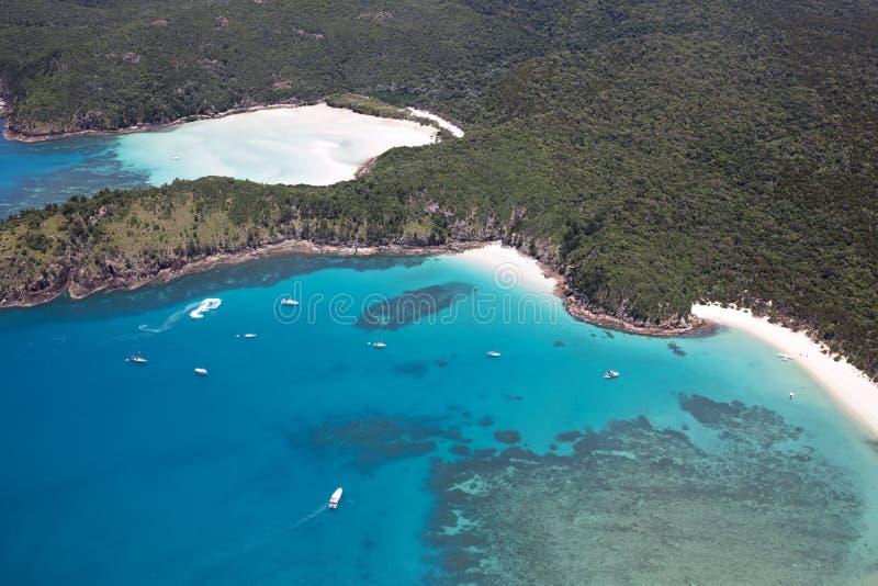 Pinkstereneiland Australië royalty-vrije stock afbeeldingen