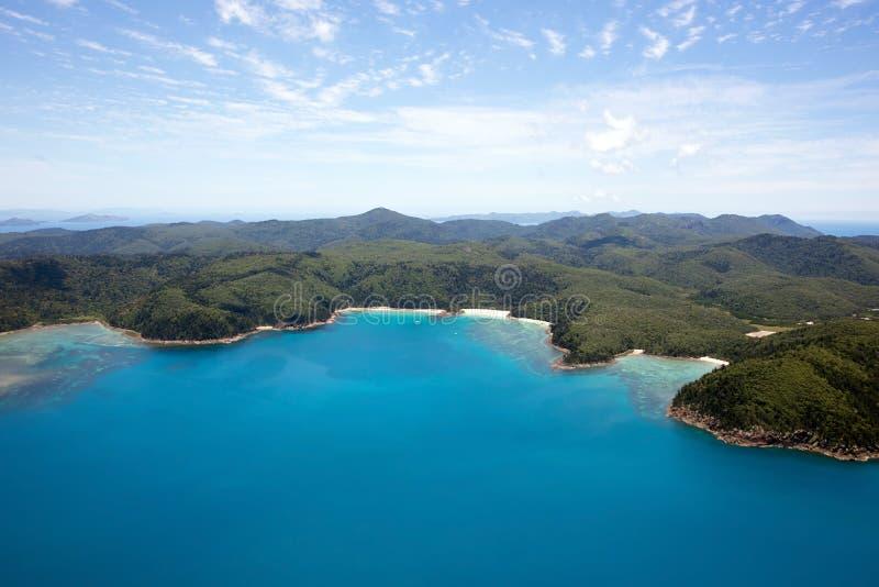 Pinkstereneiland Australië stock fotografie