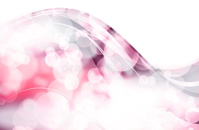 Pinky волнистое Bokeh бесплатная иллюстрация