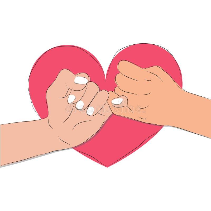 Pinky Promise illustration de vecteur