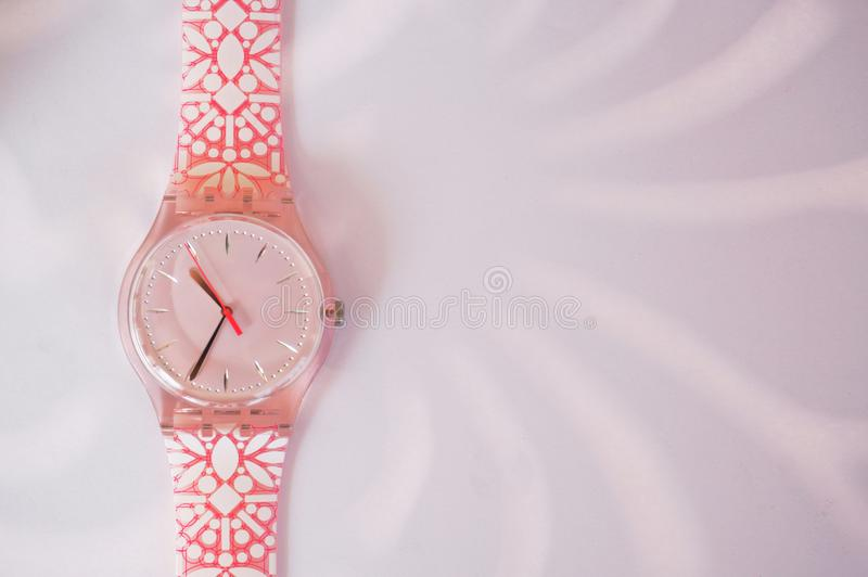 Pinky watch royalty free stock image