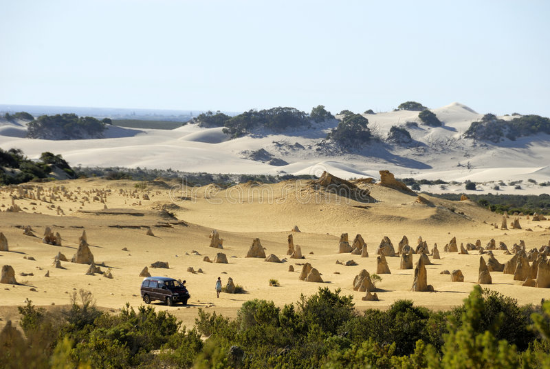 Pinnacles desert stock images