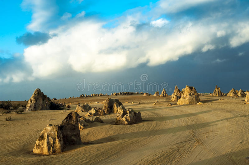 Pinnacles, West Australia royalty free stock image