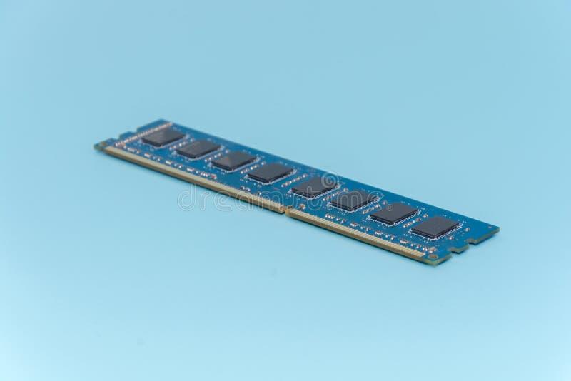 Pinne av minnet för slumpmässigt tillträde för dator RAM royaltyfri fotografi
