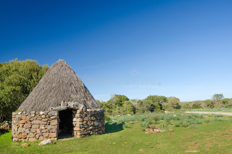 Download Pinneto sardo stock photo. Image of giara, shelter, farming - 28839428