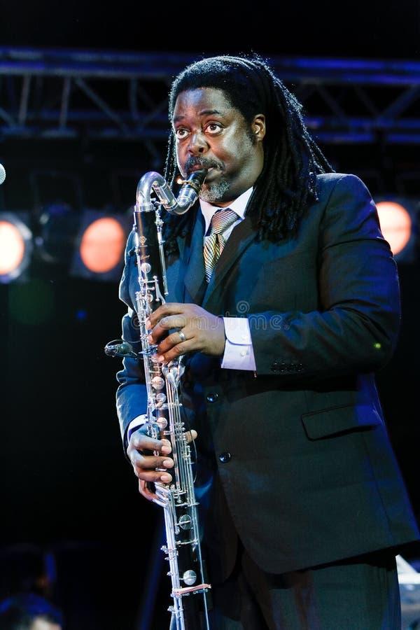 Pino di Courtney, festival 2009 di Koktebel di jazz immagine stock