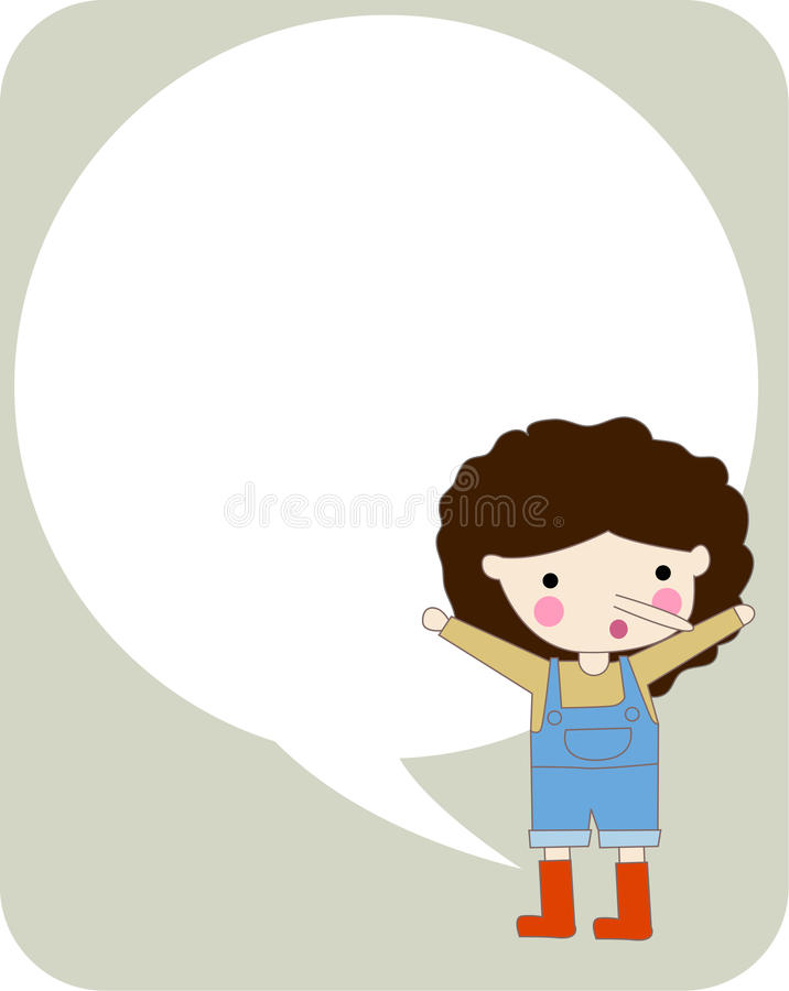 Download Pinocchio stock vector. Image of little, cheerful, children - 11615290