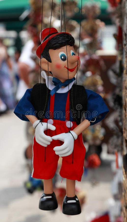 Download Pinocchio stock image. Image of cheater, doll, puppet - 20840343