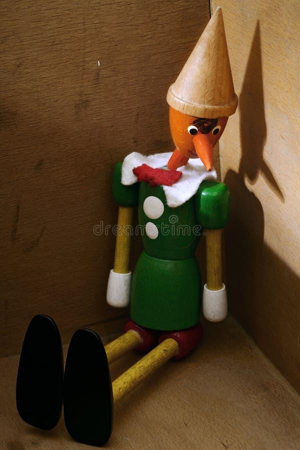 Pinocchio fotografie stock libere da diritti