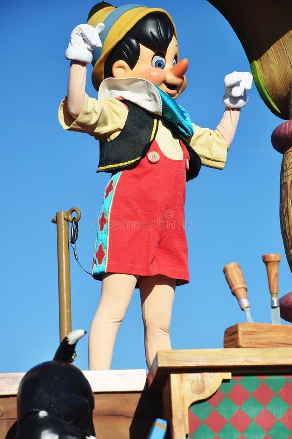 Download Pinocchio In A Dream Come True Celebrate Parade Editorial Stock Image - Image: 19106989