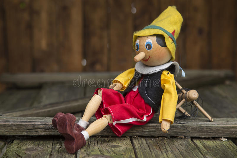 Pinocchio stock photos