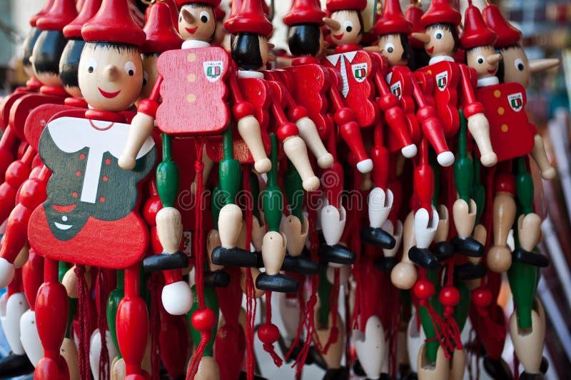 Pinocchio zabawka obraz royalty free