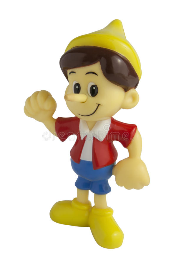 Pinocchio zabawka obraz stock