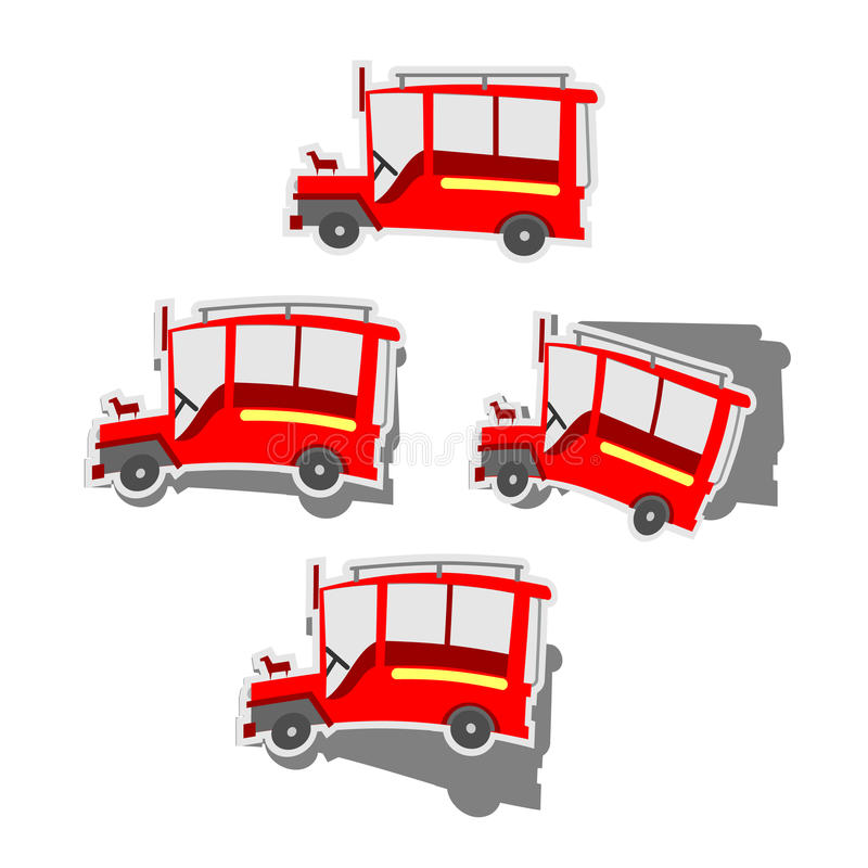 Pinoy Jeepney vector illustration