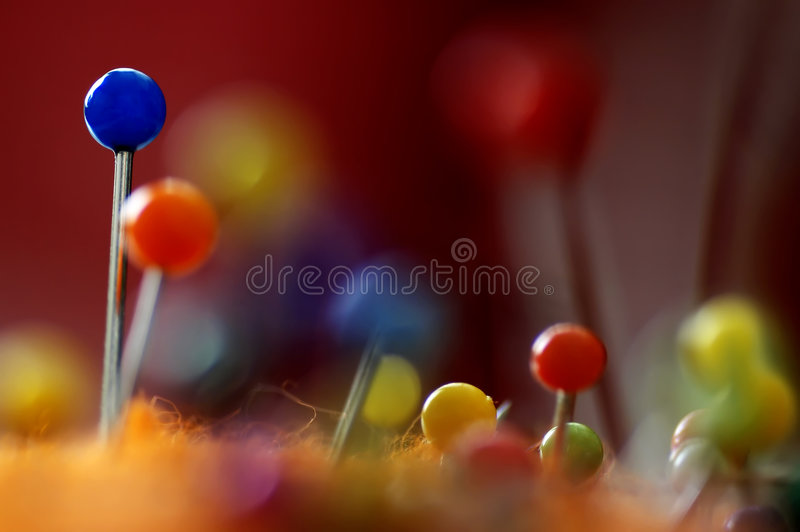 Pins royalty free stock photography