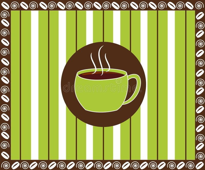 Download Pinstripe Coffee stock vector. Illustration of coffee - 22095893