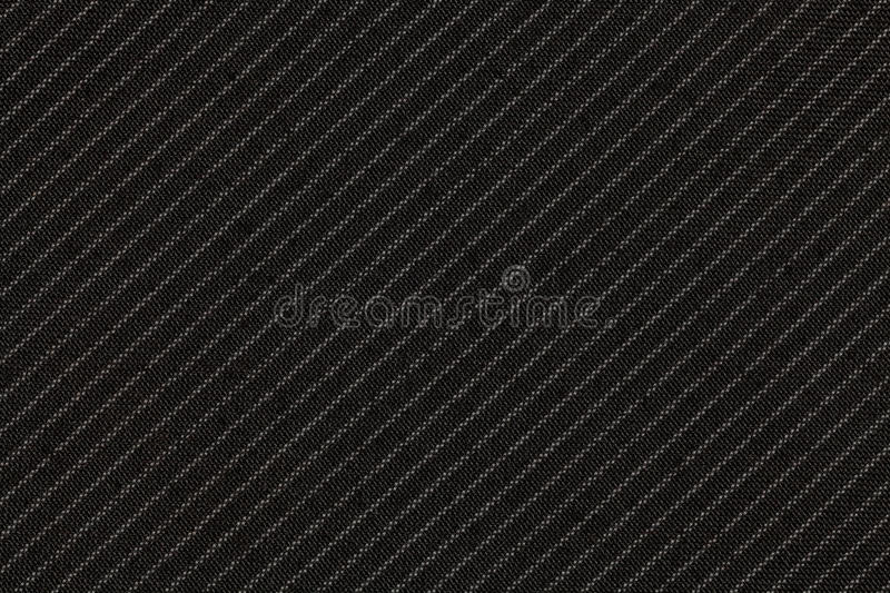 Pinstripe suit fabric. Texture and background stock photography