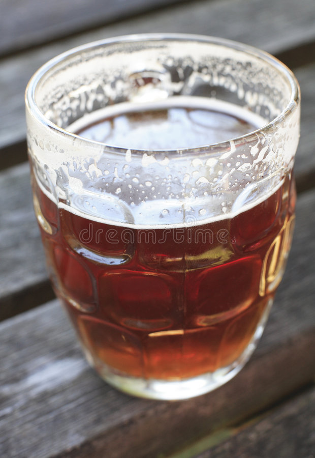 Download Pint of Ale stock photo. Image of bitter, english, single - 3299240