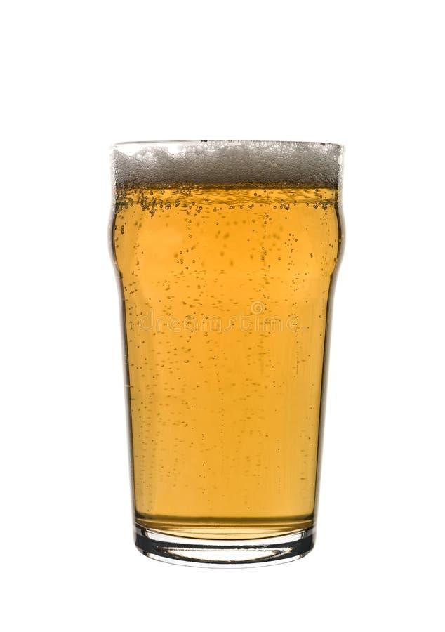 Pint Bier stockbild