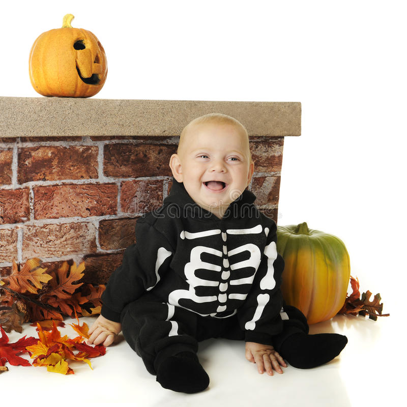 Download Pint-Sized Halloween Skeleton Royalty Free Stock Photo - Image: 26615625