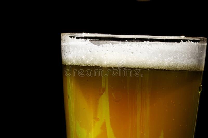 Pinta da cerveja fotografia de stock