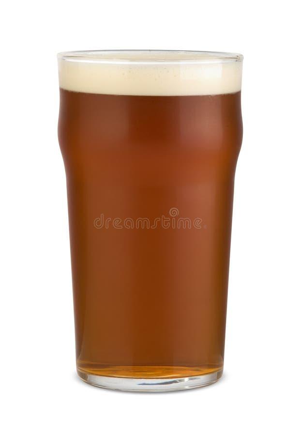 Pinta da cerveja inglesa foto de stock royalty free