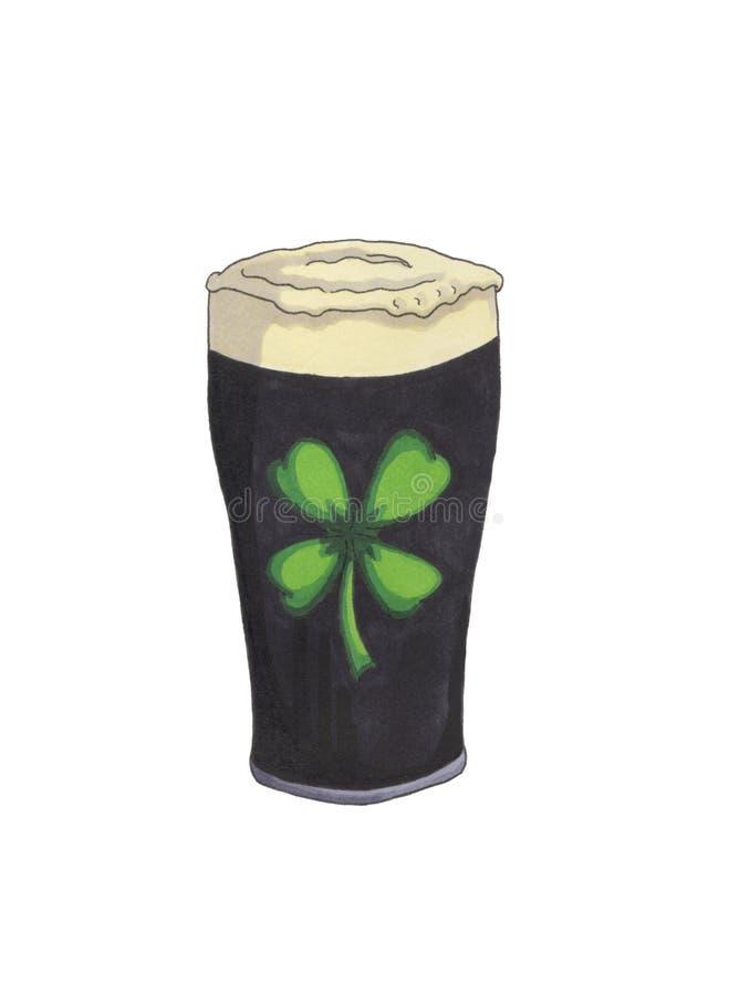 pinta de cerveza imagen de archivo libre de regalías
