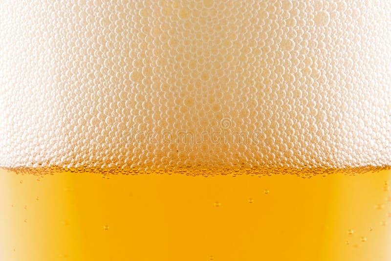 Pinta del primo piano della birra fotografie stock