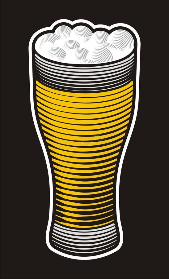 Pinta della birra royalty illustrazione gratis