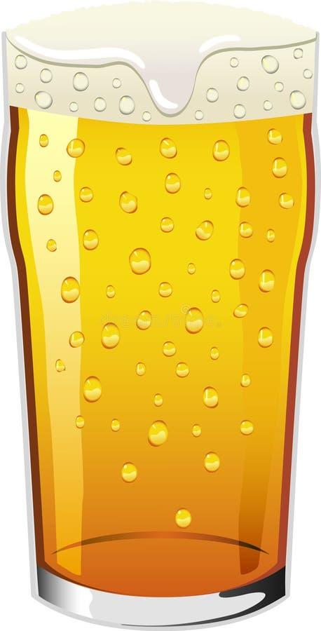 Pinta do vetor da cerveja ilustração do vetor