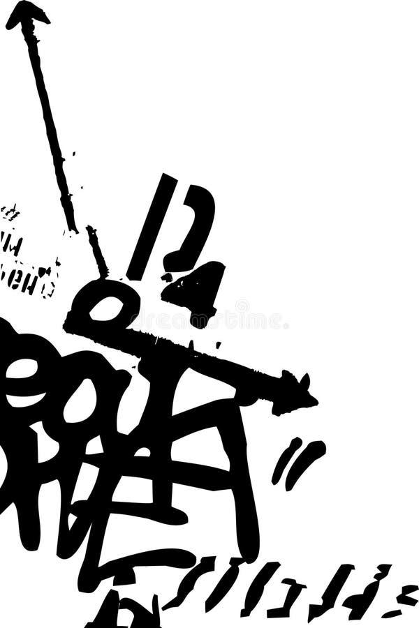 Pintada ilustración del vector