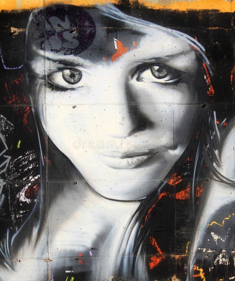 Pintada de la pared libre illustration
