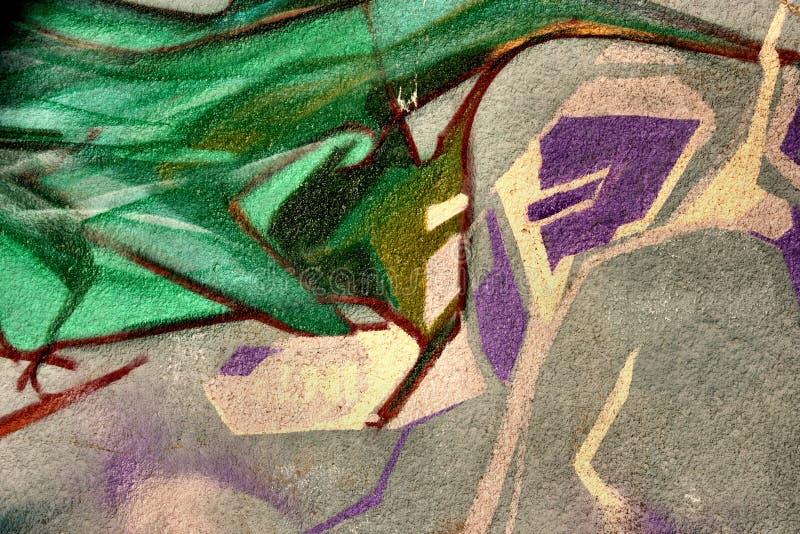 Pintada de la pared imagen de archivo libre de regalías