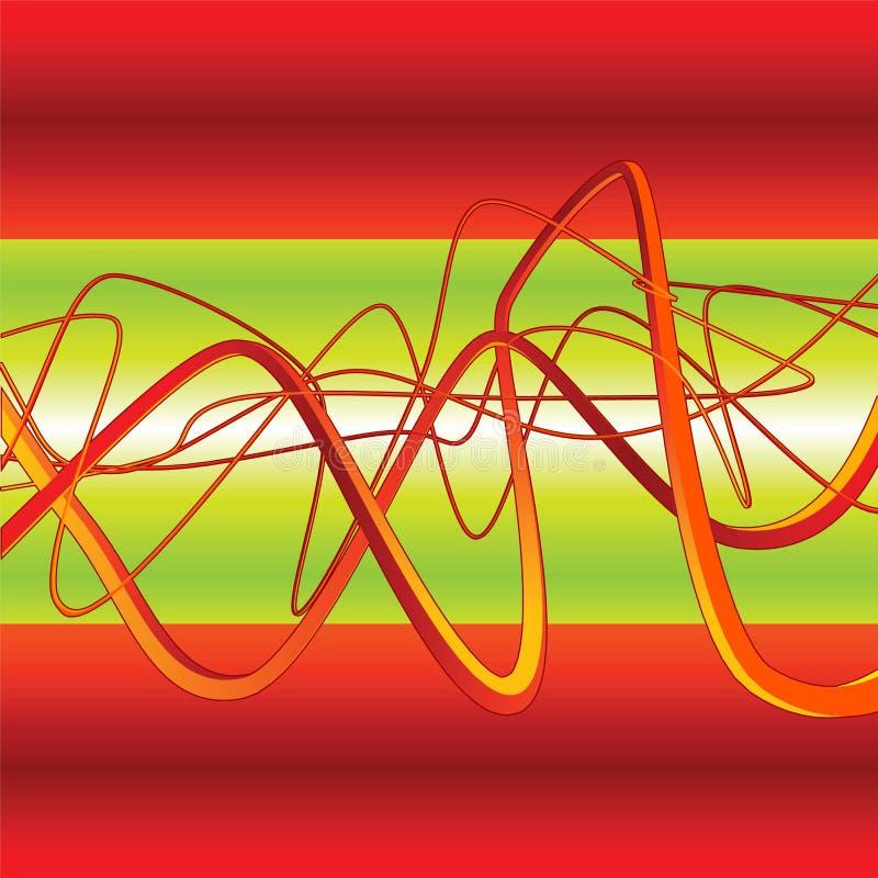 Download Pintada Del Fondo Del Vector 3D Ilustración del Vector - Ilustración de fresco, dinámico: 1279476