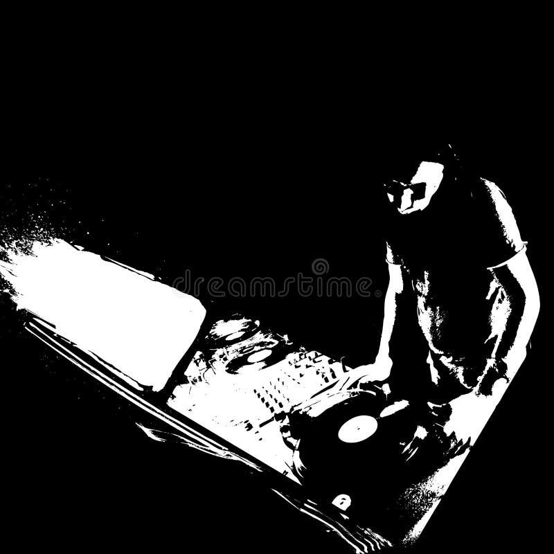 Pintada DJ libre illustration
