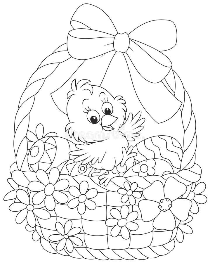 Pintainho de Easter ilustração do vetor