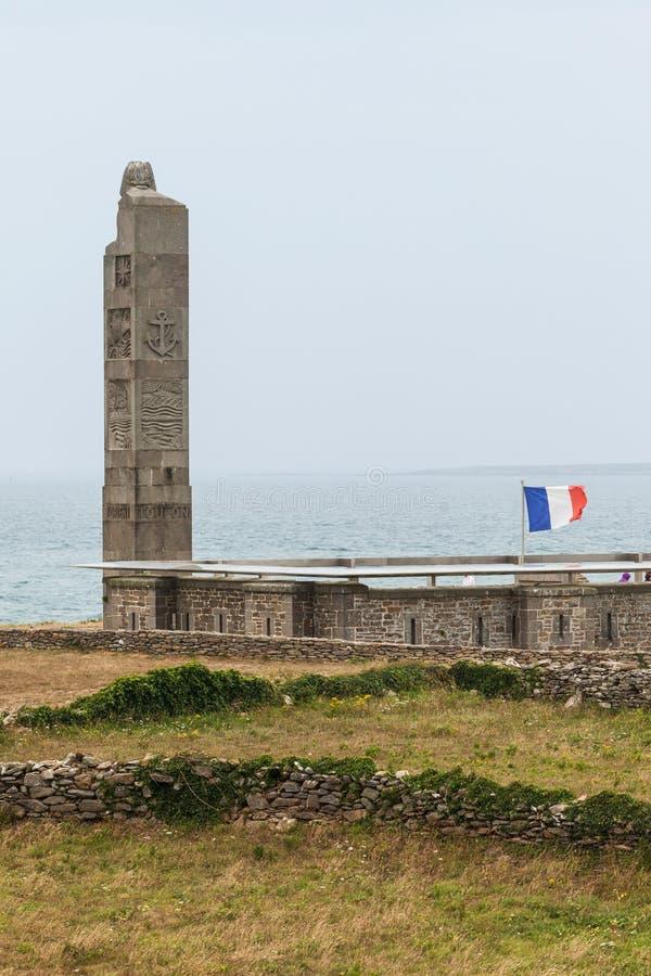 Pinte Άγιος-Mathieu στη Γαλλία Εθνικό μνημείο στοκ φωτογραφία