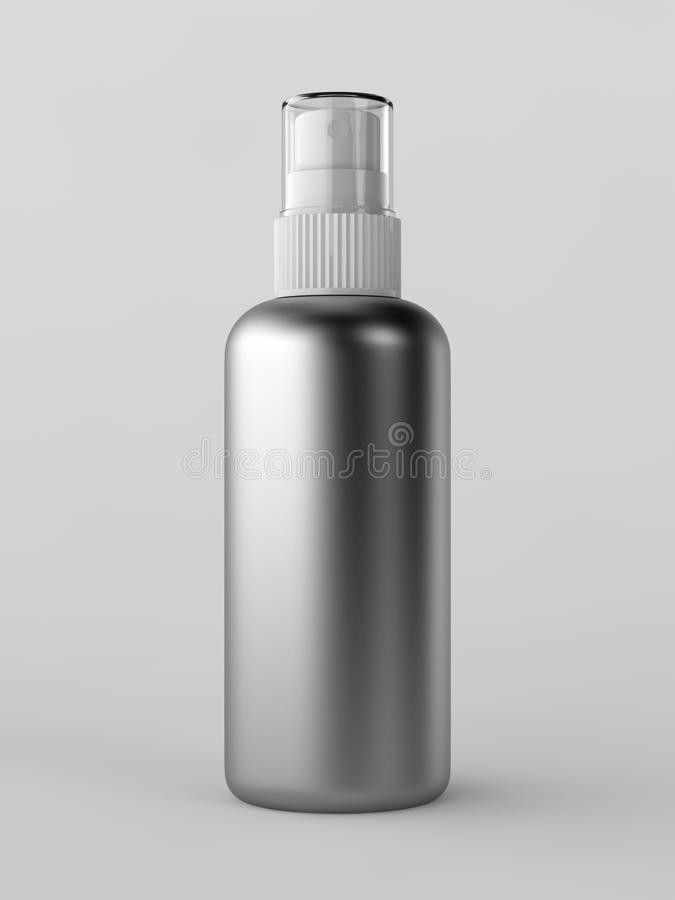 Pinte (con vaporizador) la botella stock de ilustración