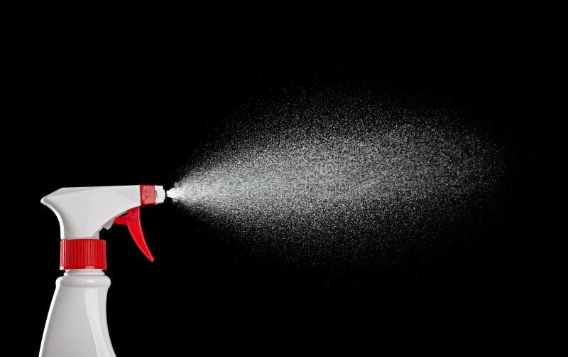 Pinte (con vaporizador) la botella imagen de archivo libre de regalías