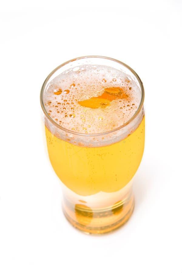 pinte de bière blonde allemande de bière photo libre de droits
