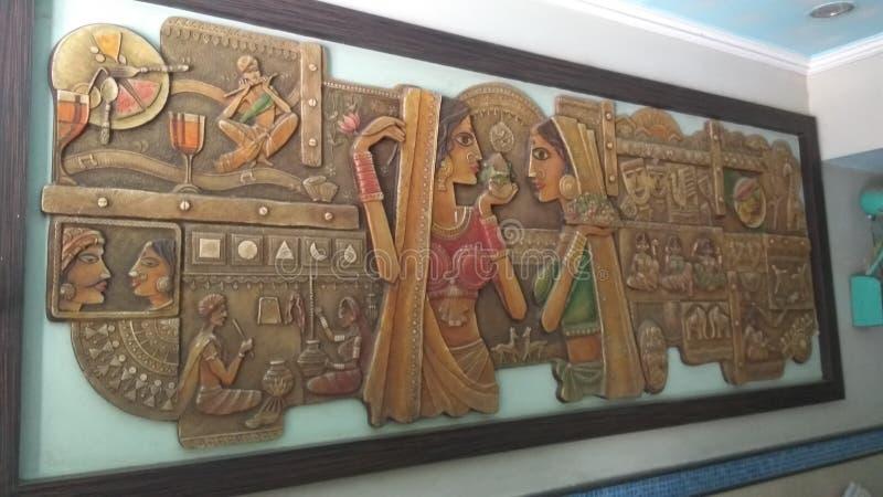 Pinte el arte de las imágenes de la pintura imagen de archivo libre de regalías