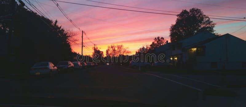 pinte el cielo fotos de archivo