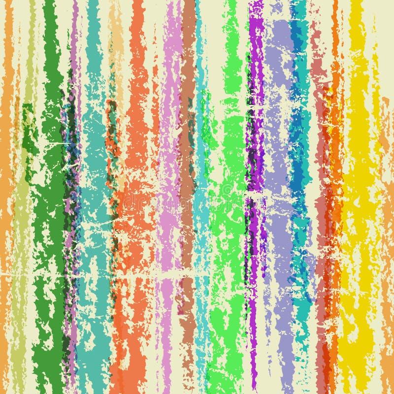 Pinte el fondo abstracto de los movimientos stock de ilustración