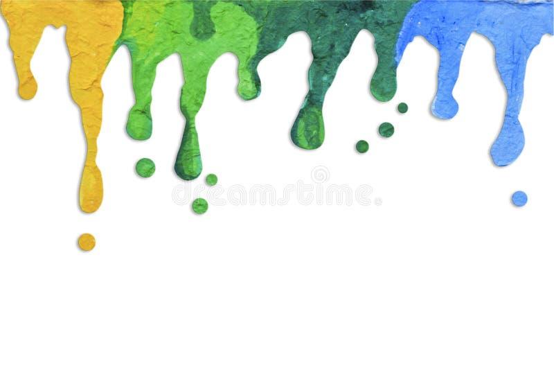 Pinte el goteo foto de archivo libre de regalías