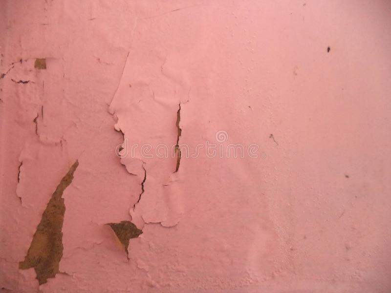 Pinte a foto da parede da casca foto de stock