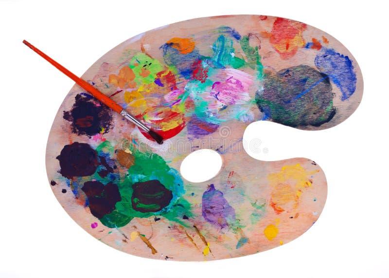 Pinte la gama de colores fotos de archivo